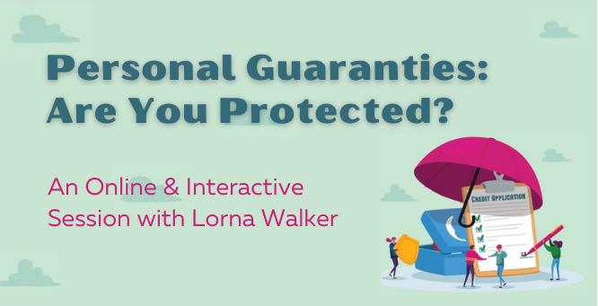 personal guaranties webinar